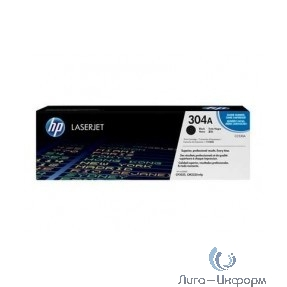 HP Картридж CC530AC лазерный черный (3500 стр)  (белая корпоративная коробка)