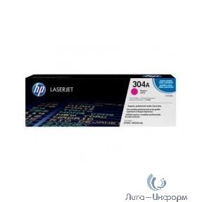HP Картридж CC533AC лазерный пурпурный (2800 стр)  (белая корпоративная коробка)