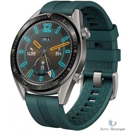 HUAWEI WATCH GT Dark Green 46 mm Умные часы
