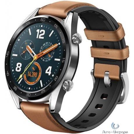 HUAWEI WATCH GT. Цвет: коричневый Умные часы