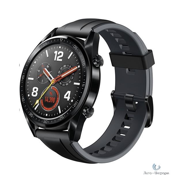 HUAWEI WATCH GT. Цвет: черный Умные часы