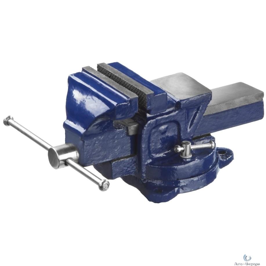 DEXX Тиски слесарные с поворотными механизмом, 100мм [32470-100]