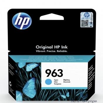 HP 3JA23AE Картридж струйный  963 голубой (700стр.) {HP OfficeJet Pro 901x/902x/HP}
