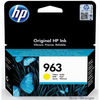 HP 3JA25AE Картридж струйный  963 желтый (700стр.) {HP OfficeJet Pro 901x/902x/HP}
