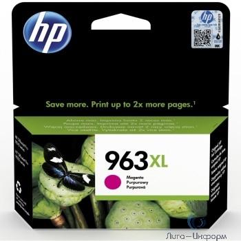 HP 3JA28AE Картридж струйный  963 пурпурный (1600 стр.) {HP OfficeJet Pro 901x/902x/HP}