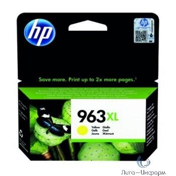 HP 3JA29AE Картридж струйный  963 желтый (1600 стр.) {HP OfficeJet Pro 901x/902x/HP}