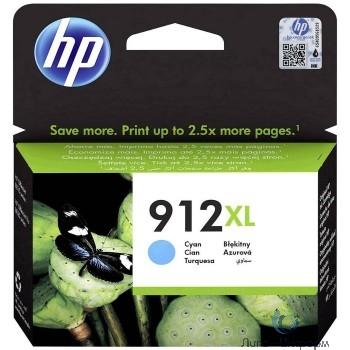 HP 3YL81AE Картридж № 912 струйный голубой (825 стр) {HP OfficeJet 801x/802x}