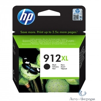 HP 3YL84AE Картридж № 912 струйный черный (825 стр) {HP OfficeJet 801x/802x}