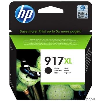 HP 3YL85AE Картридж № 917XL струйный черный (1500 стр) {HP OfficeJet 802x}