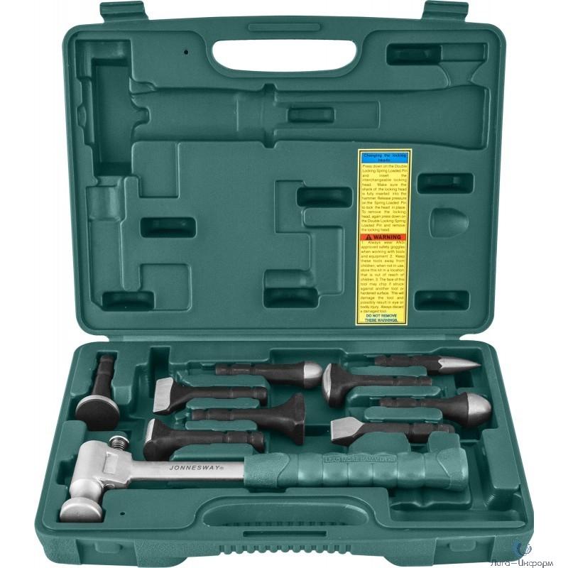 AG010142 Многофункциональный молоток с сменными головками для жестяных работ