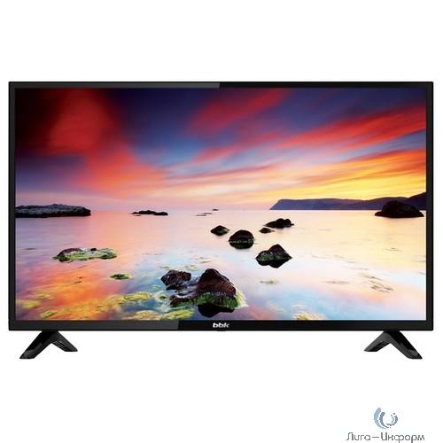 """BBK 24"""" 24LEM-1043/T2C черный {HD READY/50Hz/DVB-T/DVB-T2/DVB-C/USB (RUS)}"""
