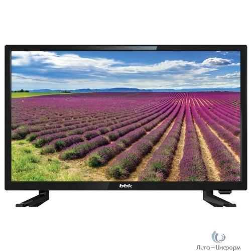 """BBK 24"""" 24LEM-1063/T2C черный {HD READY/50Hz/DVB-T/DVB-T2/DVB-C/USB (RUS)}"""