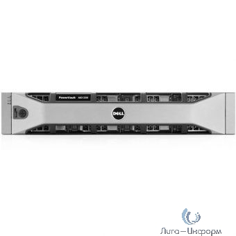 Dell PowerVault MD1200 SAS 12xLFF Dual EMM/ noHDD UpTo12LFF/ 2x2Tb SAS 7,2k/ 2x600W RPS/ 2xCable SAS 2m/ Bezel/ Static ReadyRails/ 3YPSNBD (210-30719)