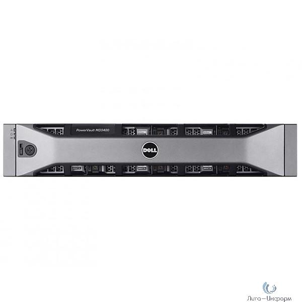 Dell PowerVault MD3400 x12 6x3Tb 7.2K 3.5 NL SAS 2x600W PNBD 3Y 2xCtrl SAS12Gb Cache 4GB (210-ACCG-33)