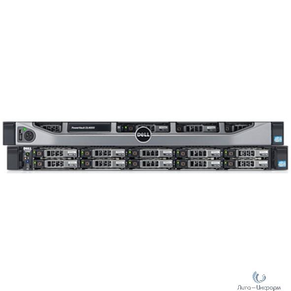 Dell PowerVault DL4000 Intel 2xE5-2640 4x8Gb x10 2x300Gb 10K 2.5 SAS 2.5 H710P 4x1Gb Ethernet 2x750W 4hMC 3Y H810/ Win2012 Std (210-ABGF-3)