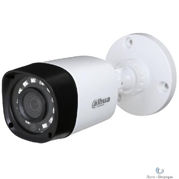 DAHUA DH-HAC-HFW1000RP-0280B-S3 Камера видеонаблюдения 2.8 мм,  белый