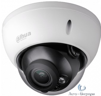 DAHUA DH-HAC-HDBW1200RP-Z-S4 Камера видеонаблюдения 1080p,  2.7 - 12 мм,  белый