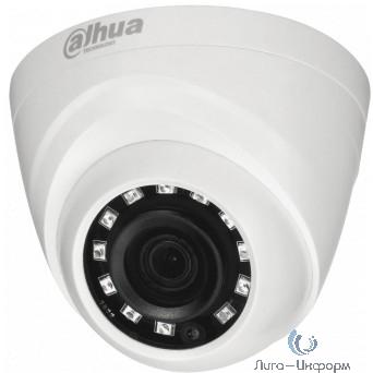 DAHUA DH-HAC-HDW1220MP-0280B Камера видеонаблюдения 1080p,  2.8 мм,  белый