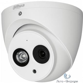 DAHUA DH-HAC-HDW1220EMP-A-0360B Камера видеонаблюдения 3.6-3.6мм цветная корп.:белый