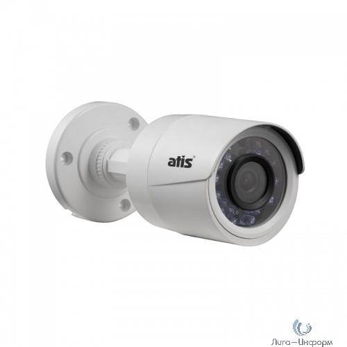 ATIS AMH-B12-3.6 Уличная цилиндрическая MHD камера ATIS AMH-B12-3.6 с подсветкой до 20м, 2Мп, 1080р