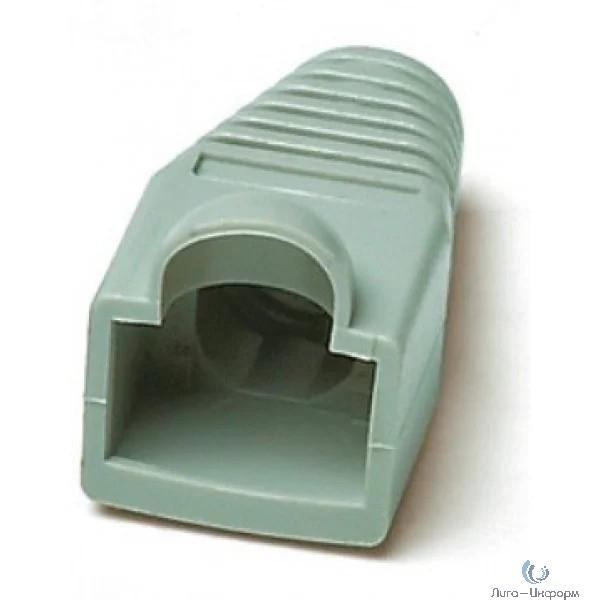 Hyperline BOOT-BL-10 Изолирующий колпачок для Разъемов RJ-45, синий (10 шт.)