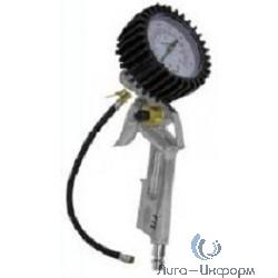 FIT DIY Пистолет с манометром, быстросъемное соединение (81048 FIT )