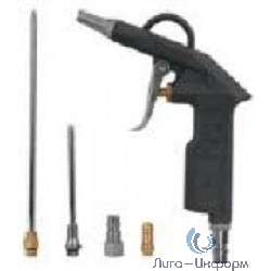 FIT IT [81066] Пистолет продувочный с набором насадок, быстросъемное соединение