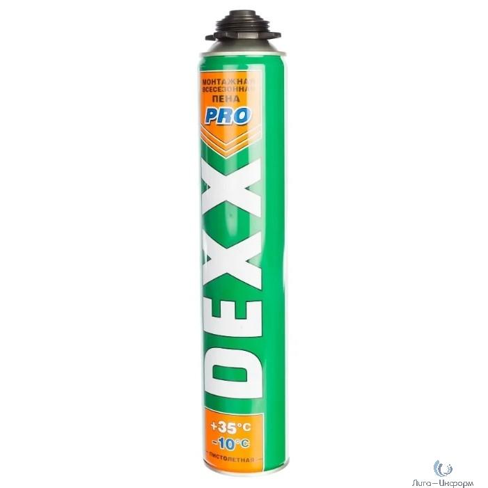 DEXX PRO Пена монтажная,  750мл[41126]