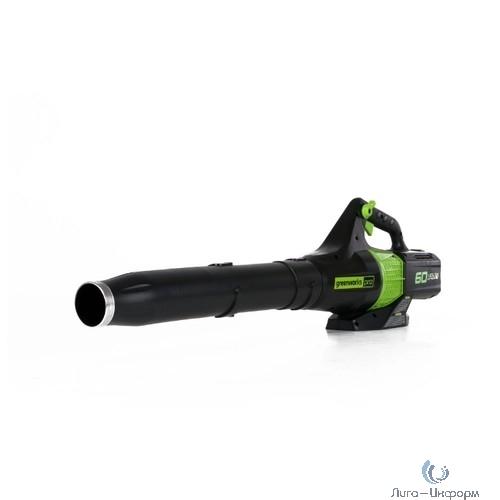 Greenworks Воздуходув аккумуляторный GD60AB, {60V, бесщеточный, без АКБ и ЗУ} [2401307]