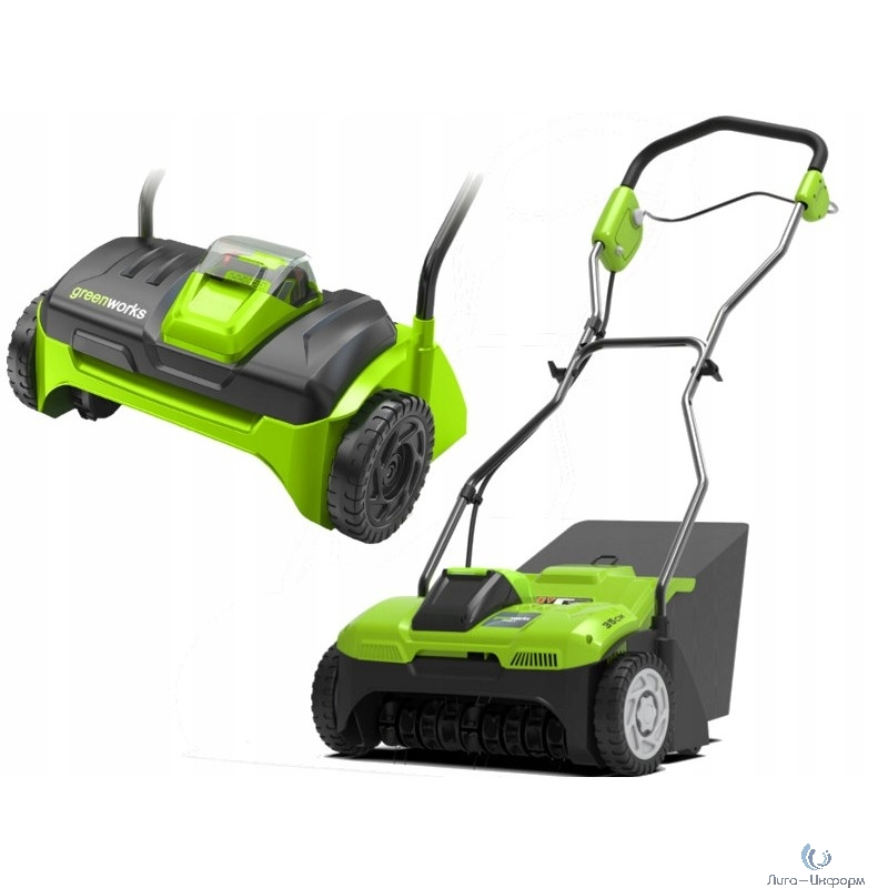 Greenworks Аэратор аккумуляторный , {40V, без АКБ и ЗУ} [2504807]
