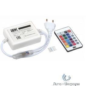 IEK LSC1-RGB-500-IR-20-220-B Контроллер с ПДУ ИК RGB 3 канала 220В 3А 500Вт