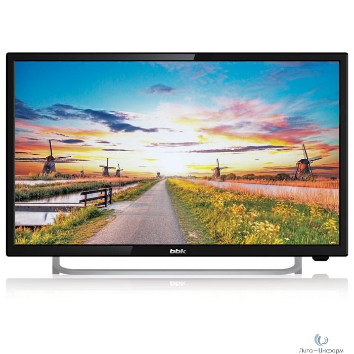 """BBK 24"""" 24LEM-1027/FT2C черный {FULLHD/50Hz/DVB-T/DVB-T2/DVB-C/USB (RUS)}"""
