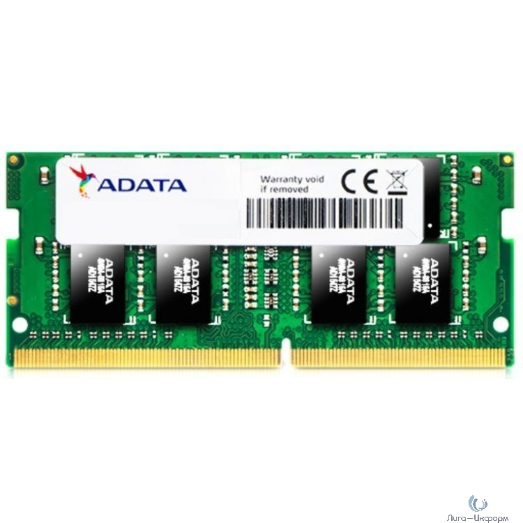 A-Data DDR4 SODIMM 4GB AD4S2666J4G19-S PC4-21300, 2666MHz