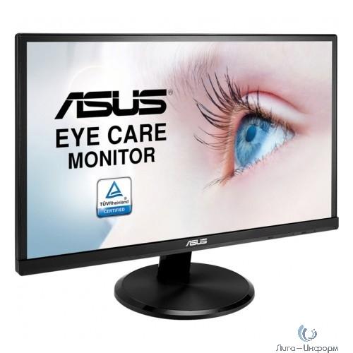 "ASUS LCD 21.5"" VA229N черный {IPS 1920x1080@76Hz 8bit (6bit+FRC) 5ms 250cd 178/178 1000:1 D-Sub DVI}"