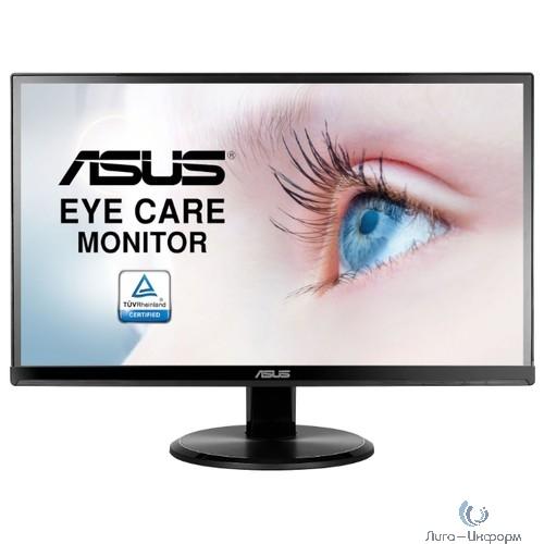 """ASUS LCD 21.5"""" VA229NR чёрный {16:9 IPS матовая 1920x1080@60Hz 178/178 5ms 250cd 1000:1 FlickerFree VESA БП встроенный Tilt  VGA DVI}"""