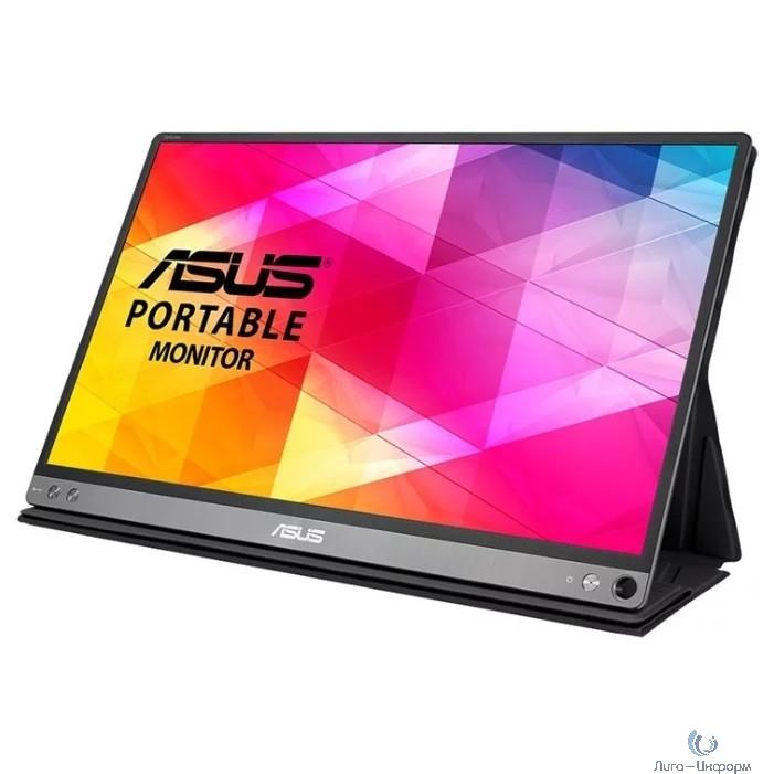 "ASUS LCD 15.6"" MB16AC Black {IPS LED Wide 1920x1080 160/160 220cd 800:1 USB}"