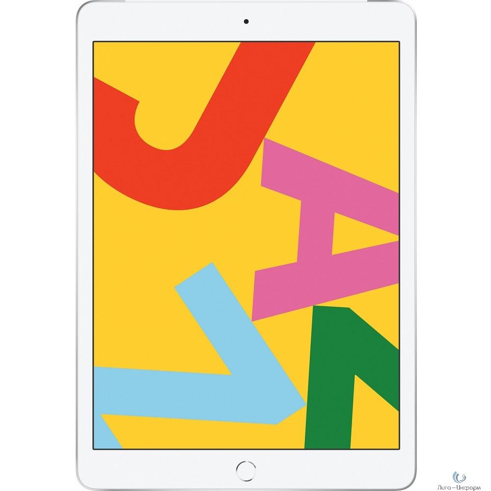 Apple iPad 10.2-inch Wi-Fi + Cellular 128GB - Silver [MW6F2RU/A] (2019)