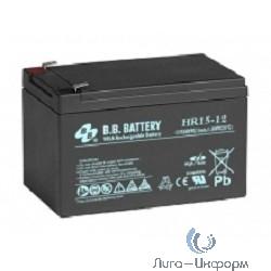B.B. Battery Аккумулятор HR15-12/T2