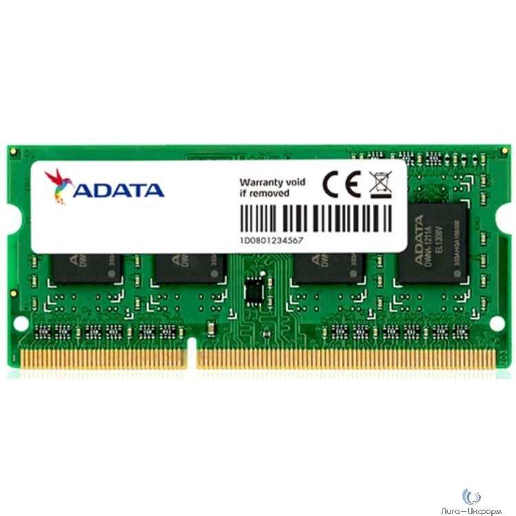 8GB DDR3L SO DIMM 1600 512x8, Low voltage