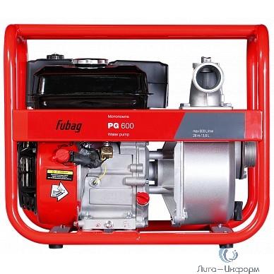 FUBAG PG 600  Мотопомпа бензиновая для чистой воды (600 л/мин_26 м) [568713]