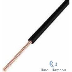REXANT 01-6506 Провод ПГВА REXANT 1х0. 75 мм, черный, бухта 100 м