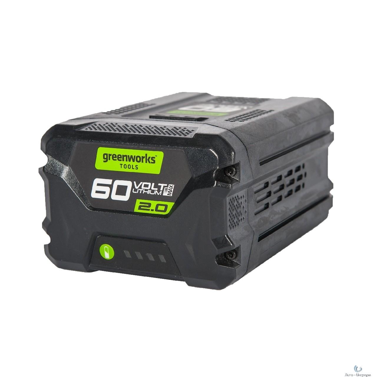 Greenworks Аккумулятор G60B2, {60V, 2 А.ч} [2918307]