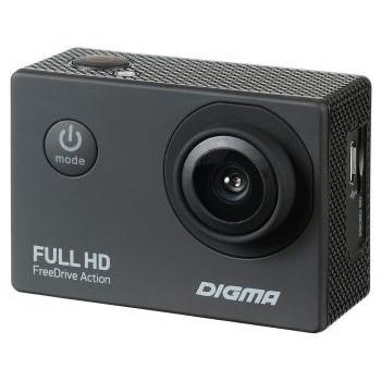Видеорегистратор Digma FreeDrive Action Full HD черный 1.2Mpix 1080x1920 1080p 140гр. [1030134]
