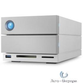 "LaCie STGB8000400 8TB 2big Dock Thunderbolt3 3,5"" 2  Thunderbolt3, 1USB 3.1, 1DisplayPort, 1USB 3.0 (type A), 1 SD card, 1CF card, 7200"