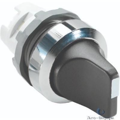 ABB 1SFA611210R2006 Переключатель M3SS1-20B (короткая ручка) черный 3-х позиционный без подсветки (только корпус) с фиксацией