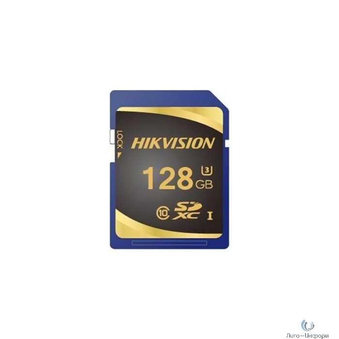 SecureDigital 128Gb Hikvision HS-SD-P10/128G {SDXC Class 10, UHS-I}