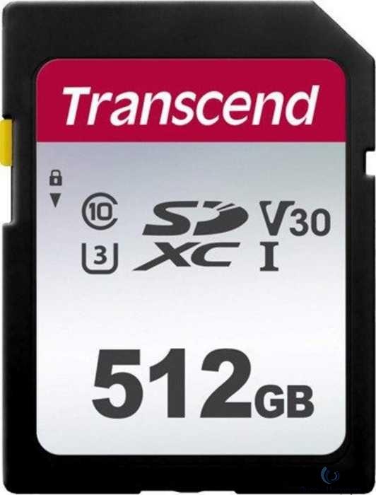 SecureDigital 512Gb Transcend TS512GSDC300S {SDXC Class 10, UHS-I U3}