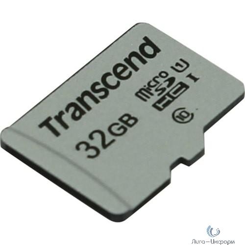 Micro SecureDigital 32Gb Transcend TS32GUSD300S {MicroSDHC Class 10 UHS-I}
