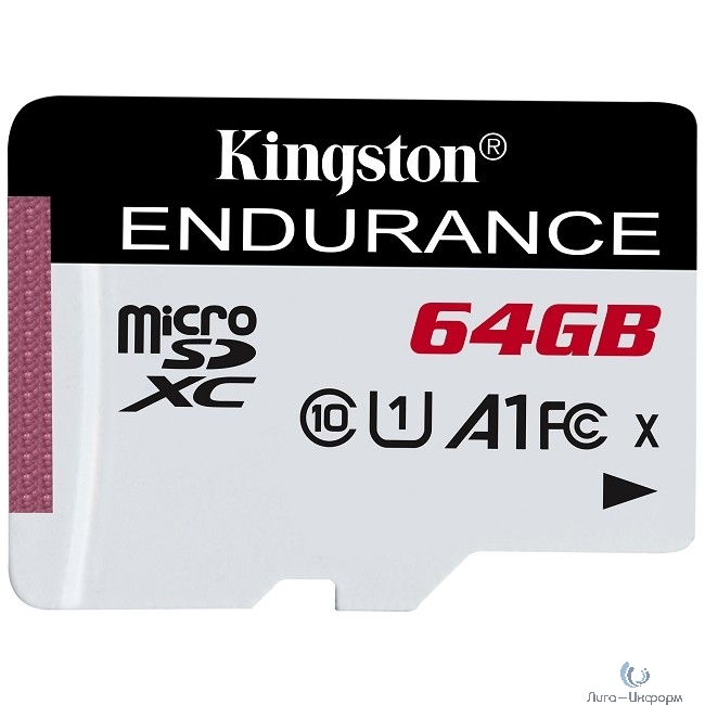 Micro SecureDigital 64Gb Kingston SDCE/64GB {MicroSDHC Endurance Flash Memory Card}