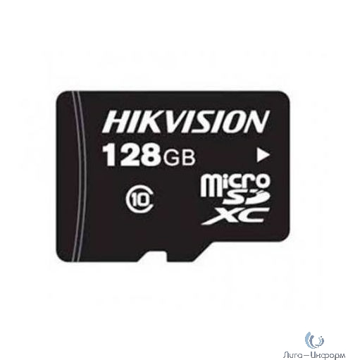Micro SecureDigital 128Gb Hikvision HS-TF-C1/128G {MicroSDHC Class 10 UHS-I}
